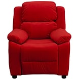 Red Deluxe MCFB Kids Recliner W/SRG Arms