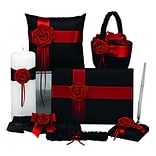 HBH™ 6-Piece Midnight Rose Collection Set, Black