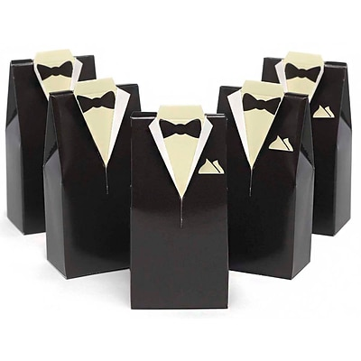 HBH™ Tuxedo Favor Boxes, Brown