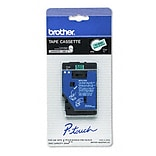 Brother® Black on Green Laminated Labe Tape (TC8001)