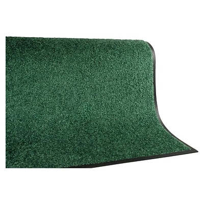 Andersen TriGrip Nylon Interior Floor Mat, 3 x 10, Emerald Green with Cleated Backing