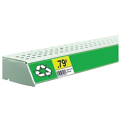 FFR Merchandising® Economy Self-Adhesive Data Strip® Label Holder, 3 x 47 7/8, Clear