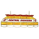Trademark Global® 40 Stained Glass Tiffany Lamp, Central Michigan™ U NCAA