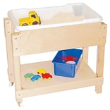 Wood Designs Petite Sand and Water Table w/ Top and Shelf