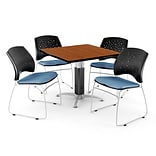 36 CNFLR BE Square CHRY LAM Table W/4 CHR