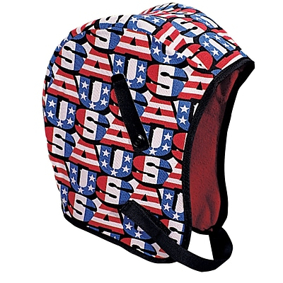 Mutual Industries Kromer Regular Nape USA Winter Liner, Red/White/Blue, One Size