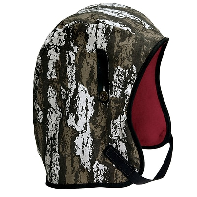 Mutual Industries Kromer Long Nape Winter Liner, Bark Camo, One Size