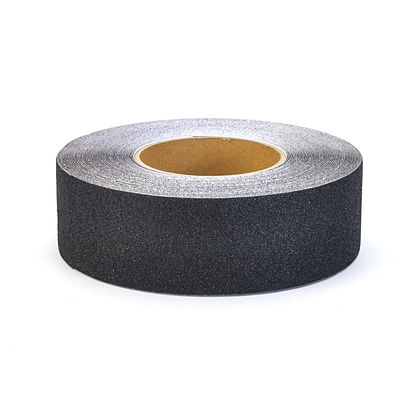 Mutual Industries Non-Skid Abrasive Safety Tape, 2 x 60, Black