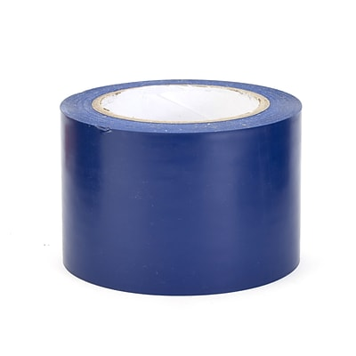 Mutual Industries Aisle-Marking Tape, 3 x 36 yds., Blue, 16/Box