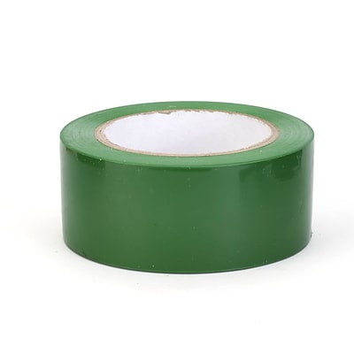 Mutual Industries Aisle-Marking Tape, 3 x 36 yds., Green, 16/Box
