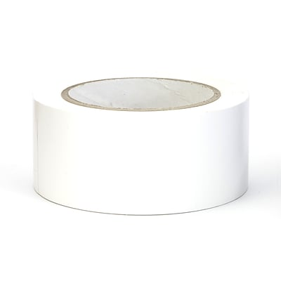 Mutual Industries Aisle-Marking Tape, 2 x 36 yds., White, 24/Box