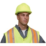 Mutual Industries Lime ANSI Hard Hat Cover