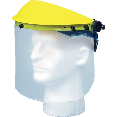 Mutual Industries Face Shield With Visor, 8 x 15 1/2