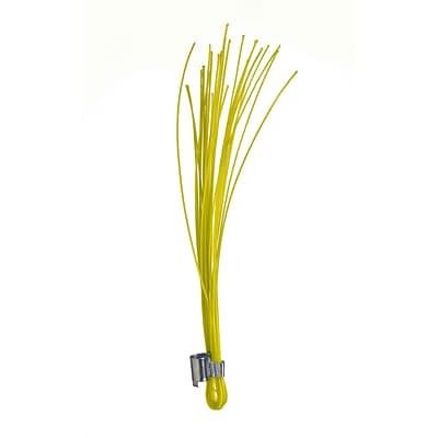 Mutual Industries Stake Whiskers, 6, Yellow, 500/Box