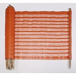 Orange 48x100 Preposted BRCD Safety Fence