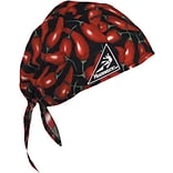Kromer Chili Peppers Cotton Head Wrap