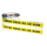 6x1000 Yellow Gas Line Detectable Tape