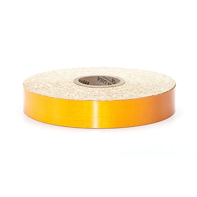 Mutual Industries Pressure Sensitive Retro Reflective Tape, 2 x 50 yds., Orange