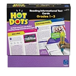 Hot Dots® Reading Informational Text, Grades 1-3