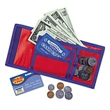 Learning Resources® Pretend & Play® Cash n Carry® Wallet