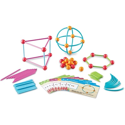 Learning Resources Dive Into Shapes! A Sea And Build Geometry Set