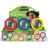 Learning Resources® Primary Science Jumbo Magnifier, 12/Set