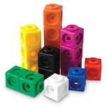 Learning Resources® Mathlink Cubes, 100/Set (LER4285)