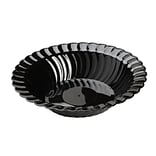 Fineline Settings Flairware 211-BK Dessert Bowl, Black