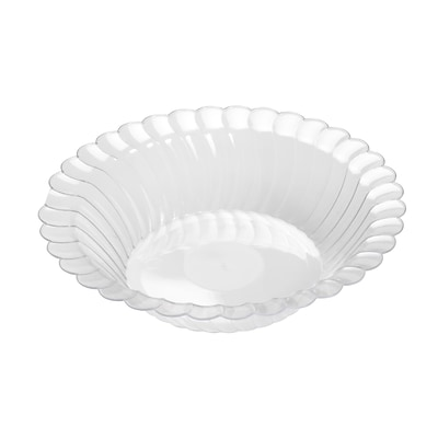 Fineline Settings Flairware 211-CL Dessert Bowl, Clear