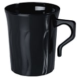 Fineline Settings Flairware 208-BK Coffee Mug, Black