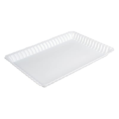Fineline Settings Flairware 293 Serving Tray Bulk; White