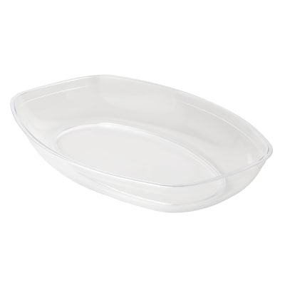 Fineline Settings Platter Pleasers 3525 Luau Bowl, Clear