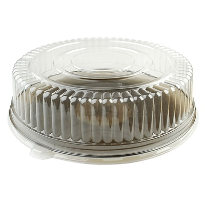 Fineline Settings Platter Pleasers 9601-L Clear Dome PET Lid