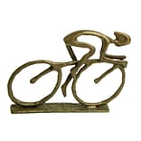 Cyclist Cast Bronze