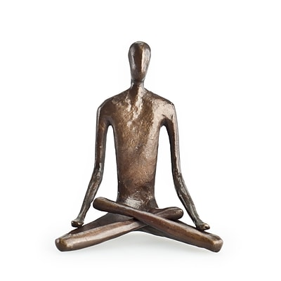 Danya B ZD5793S Yoga Lotus Bonze Sculpture