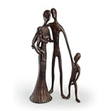 Family of Four Cast Bronze