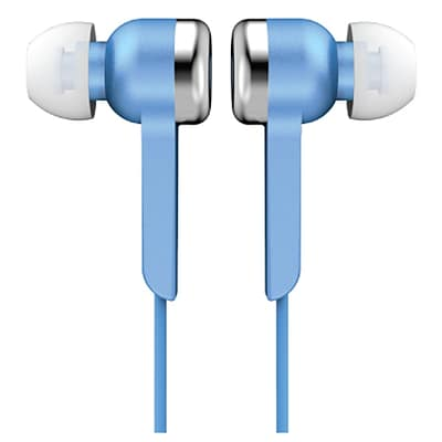 Supersonic® IQ sound® IQ-113 Digital Stereo Earphones, Blue