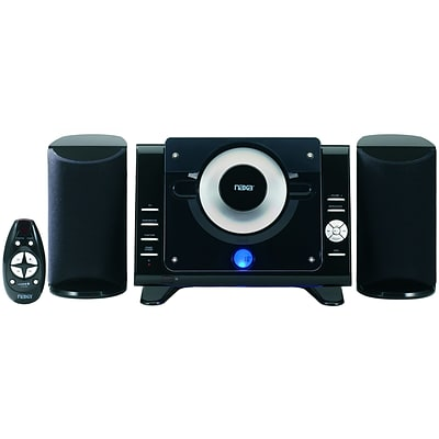 Naxa® NSM-435 Digital MP3/CD Micro System With AM/FM Stereo Radio