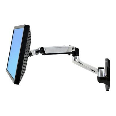 Ergotron® LX Wall Mount LCD Arm For 25 Screen