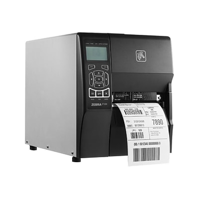 Zebra® ZT230 6 in/s Parallel Direct Thermal/Thermal Transfer Printer; 4.5 - 39, 203 dpi