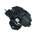 Mad Catz® Cyborg® R.A.T 5 Gaming Mouse For PC and Mac, Matte Black
