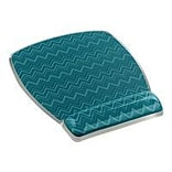 3M™ MW308 Fun Design Rubber Base Mouse Pad For Keyboard; Chevron Green