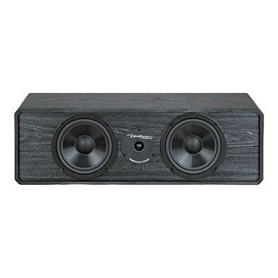 BIC America™ DV-62CLRS Two-Way Center Channel Speaker; Black