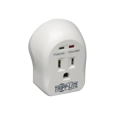 Tripp Lite 1 Outlet Surge Suppressor, 600 Joules (SPIKECUBE)