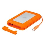 Seagate® LaCie 2TB 122 Mbps Read External Hard Drive, Orange (STEV2000400)