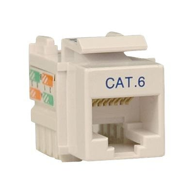 Tripp Lite Cat6/Cat5e 110 Style Punch Down Keystone Jack, White51
