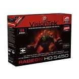 VisionTek® Radeon 1GB PCI 2.1 Graphics Card