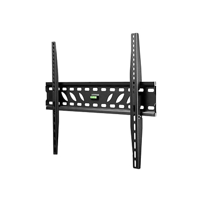 Telehook TH-3060-UF TV Low Profile Wall Fixed Mount With Extension For Up to 60 Monitor; Black