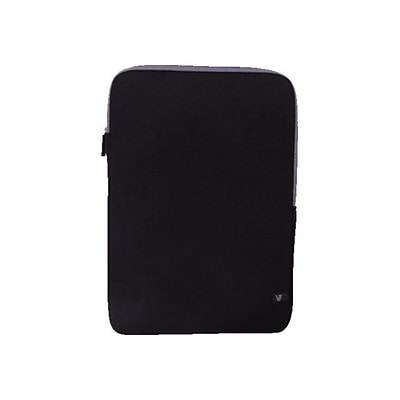 V7® CSS4-GRY-2N 13.3 Ultra Protective Sleeve For Ultrabook; Black/Gray