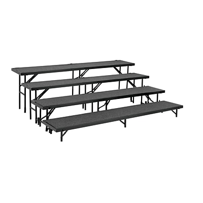 National Public Seating RS4LC-02 Portable Risers